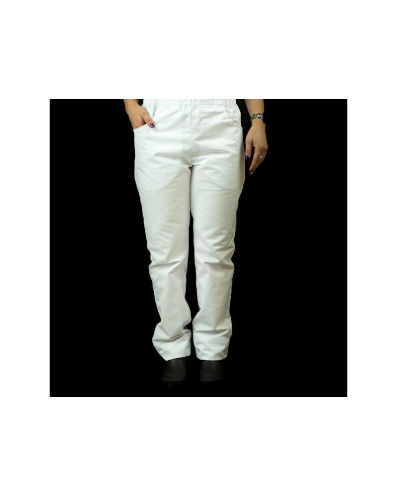Pantalón Mixto estrecho blanco