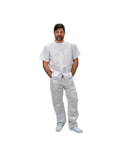 Casaca Enfermero blanco